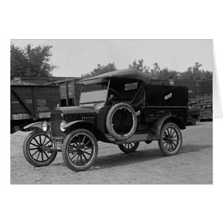 Early Rental Truck, 1925 Card