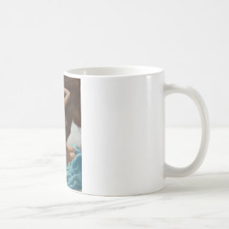 Early Riser Pin Up Art Coffee Mug