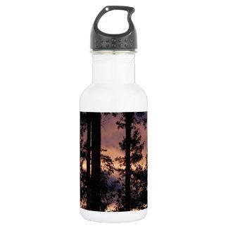 Early September Dusk Stainless Steel Water Bottle
