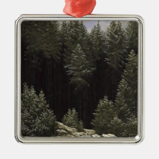 Early Snow, c.1828 Metal Ornament