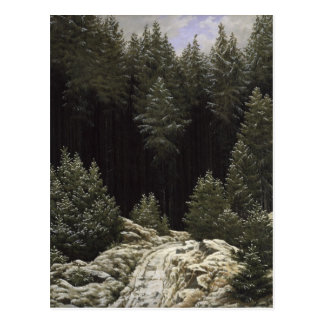 Early Snow, c.1828 Postcard