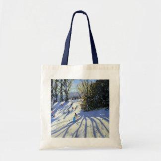 Early snow Darley Park Tote Bag
