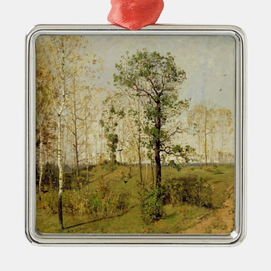 Early Spring at Weimar, 1876 Metal Ornament
