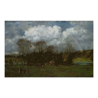 Early Spring, c.1868 Poster