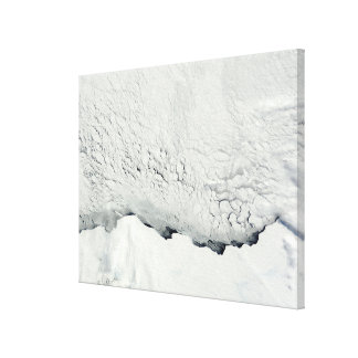 Early spring in the Antarctic Canvas Print