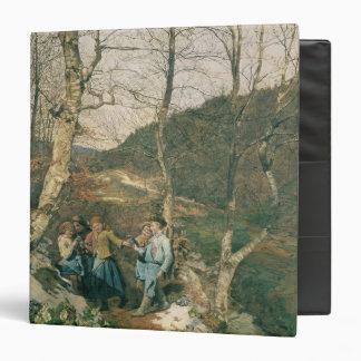 Early Spring in the Vienna Woods Vinyl Binders