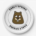 Early Spring Paper Plate