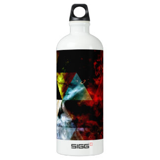 Early Stages of the Triangular Nebula Aluminum Water Bottle