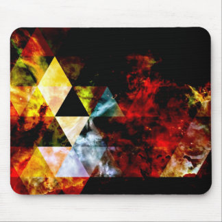 Early Stages of the Triangular Nebula Mouse Pad