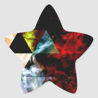 Early Stages of the Triangular Nebula Star Sticker
