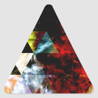 Early Stages of the Triangular Nebula Triangle Sticker