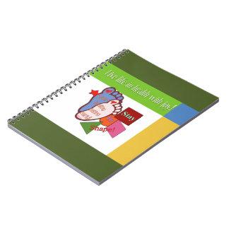 """""""Early Stay In Shape"""" Notebook"""