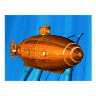 early submarine postcard