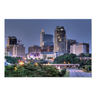 Early Summer Evening - Raleigh North Carolina Print
