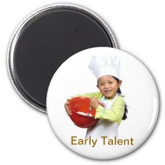 Early Talent 2 Inch Round Magnet
