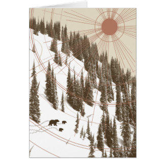Early Thaw Greeting Card