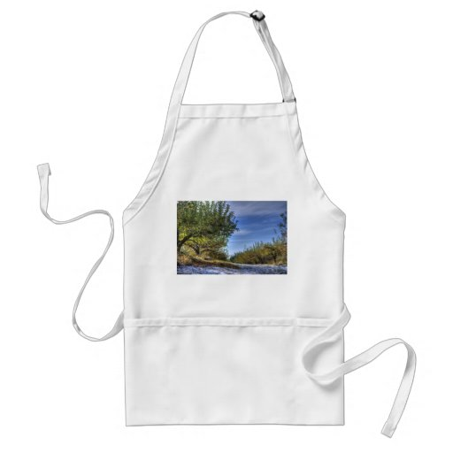 Early Winter Apron