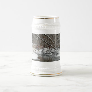 Early Winter At Petrifying Springs 18 Oz Beer Stein