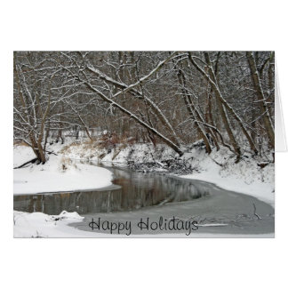 Early Winter At Petrifying Springs Greeting Card