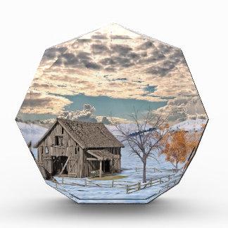 Early Winter Barn Scene Award