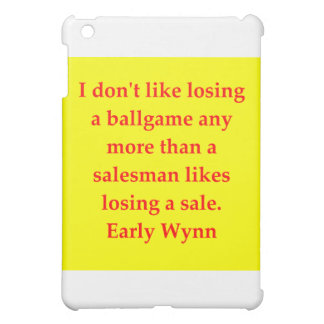 early wynn quote iPad mini covers
