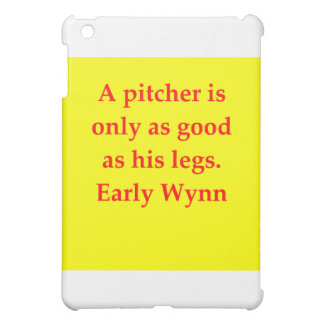 early wynn quote case for the iPad mini