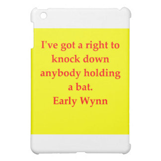 early wynn quote cover for the iPad mini