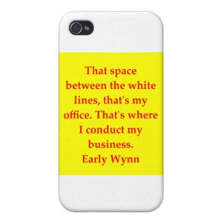 early wynn quote iPhone 4 cases