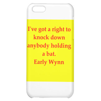 early wynn quote iPhone 5C case