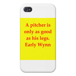 early wynn quote covers for iPhone 4