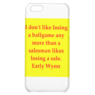 early wynn quote iPhone 5C cases