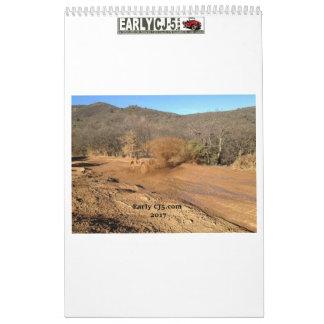 earlycj5.com 2017 calendar
