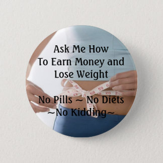 Earn Money Lose Weight Button