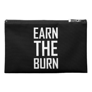 Earn The Burn Exercise Workout Travel Accessory Bag