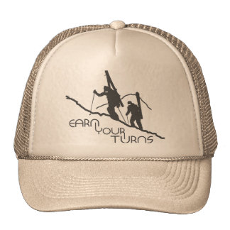 Earn Your Turns Mesh Hat
