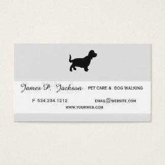 Earned Adulation Coolest Pet Professional Design Business Card