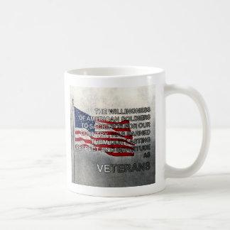 Earned Gratitude Veterans Day Mug