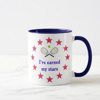 Earned My Stars Tennis Mug