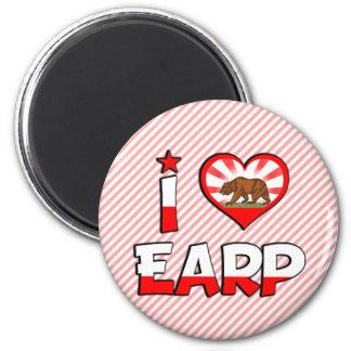 Earp CA Fridge Magnet