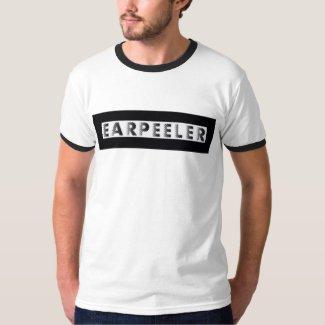 earpeeler baseball t-shirt
