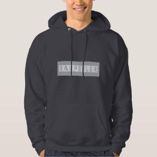 earpeeler dark grey hoodie