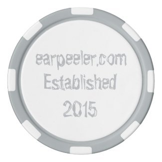 earpeeler poker chip poker chips
