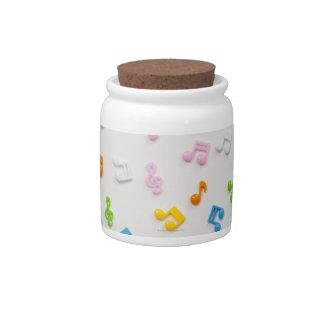 Earphone Candy Jars