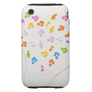 Earphone Tough iPhone 3 Cover