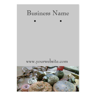 Earring Cards Business Card Templates