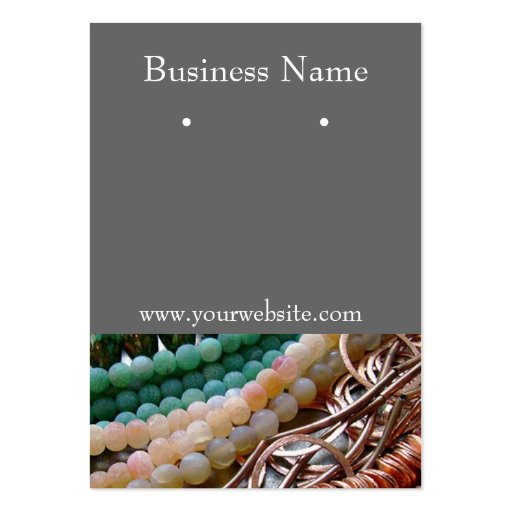Earring Cards Business Cards