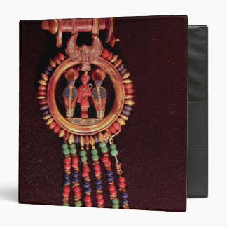 Earring from the Tomb of Tutankhamun Valley 3 Ring Binder