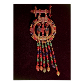 Earring from the Tomb of Tutankhamun Valley Posters