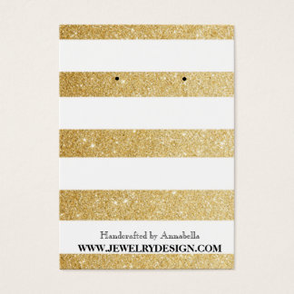 Earring Holder (Chubby) Business Card