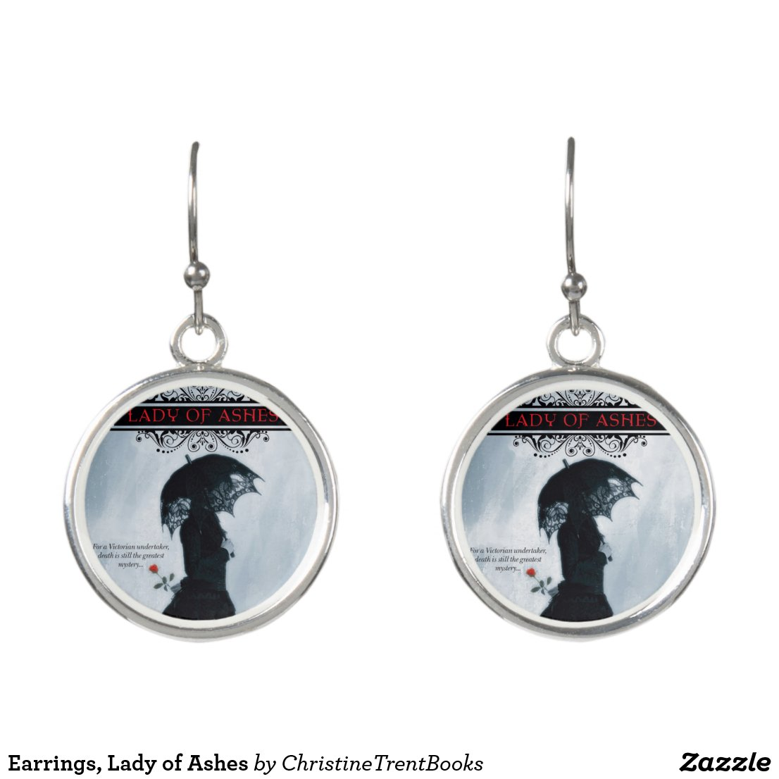 Earrings, Lady of Ashes Earrings